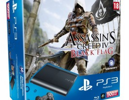 Sony PS3 Super Slim 500Gb Assassin's Creed IV Black Flag