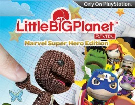 LittleBigPlanet. Marvel Super Hero Edition PS Vita