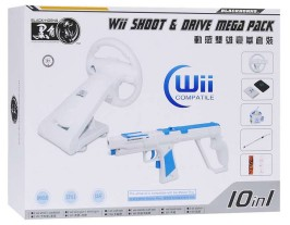 Набор Wii Shoot & Drive Mega Pack
