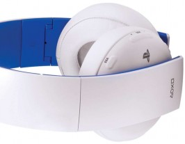 PlayStation Gold Wireless Stereo Headset Limited Edition White