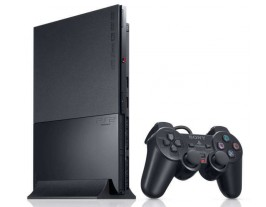 Sony PlayStation 2 / PS2 Slim Charcoal Black