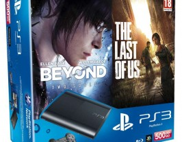 Sony PS3 Super Slim 500Gb Beyond: Two Souls + The Last Of Us